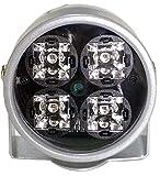 CMVision IR40 Grandangolare 60-80 Grado di potenza LED 100 metri di estensione interna e la nostra porta IR illuminatore a raggi 12V DC 3A 4 pezzi (Nessun adattatore di potere)