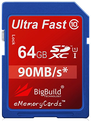 GIG Ultra Fast 80MB/s Class 10 SDXC Memory Card For Canon EOS 70D Camera ()