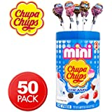 Chupa Chups Mini Creamy Lollipops 50 Unit Jar, 300g