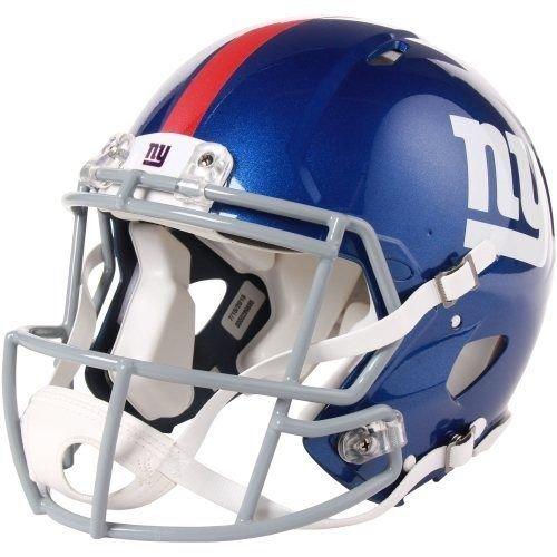 Riddell NFL authentischer Speed Footballhelm für Männer Einheitsgröße New York Giants - Ny Giants Tragen