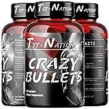 TST-Nation Crazy Bullets - Best Nitric Oxide Supplement Arginin AAKG Citrullin Kiefernrindenextrakt