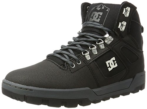 DC Shoes Spartan High WR Boot, Herren Kurzschaft Stiefel, Schwarz (Black/Black/Dk Grey), 39 EU (6 UK)