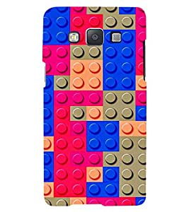 PRINTVISA Abstract Colourful Pattern Case Cover for Samsung Galaxy Grand Prime