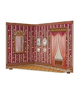 CLEVER PAPER Puzzles 3D Habitación de casa de muñecas, Serie Rumboksy 142911