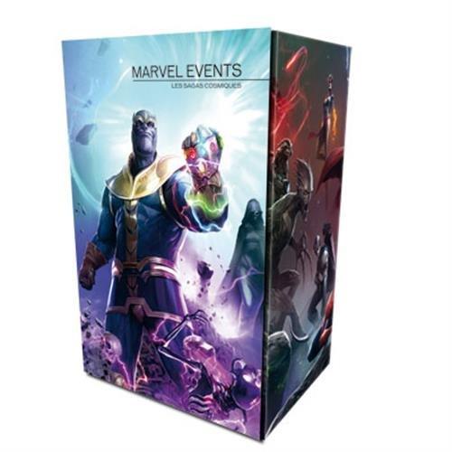 Coffret Marvel Events : Les sagas cosmiques