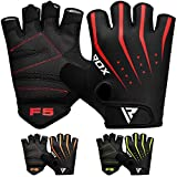RDX Gym Fitness Handschuhe Gewichtheben Bodybuilding Sports Trainingshandschuhe Workout Gloves (MEHRWEG)