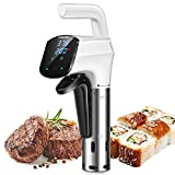 Sous Vide, AUKUYEE 1100W Sous-Vide Garer Präzisionskochtopf Immersion Zirkulator, LCD Touch Display, QQ01