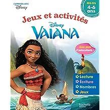 Vaiana Jeux et Activités 4-6 ans