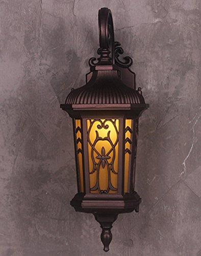 Le mur rétro européen allume l'éclairage extérieur imperméable à l'eau de balcons s'allume le couloir s'allume les lumières de jardin de porte