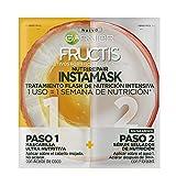 Garnier Fructis Instamask Tratamiento Flash de Nutrición Intensiva - 5 Paquetes de 37 gr - Total: 185 gr