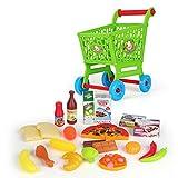 TXXCI 24Pcs Enfant Chariot Supermarché Shopping Cart Jeu d'Imitation Pour Enfant