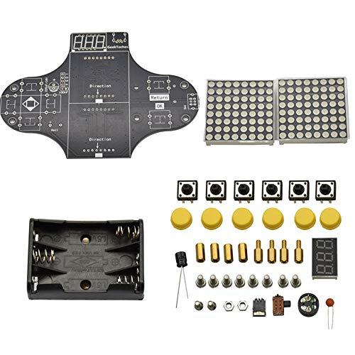 Preisvergleich Produktbild Mouchao Verbessertes elektronisches DIY-Spielekonsolen-Kit-Modul zum Löten von Spielen