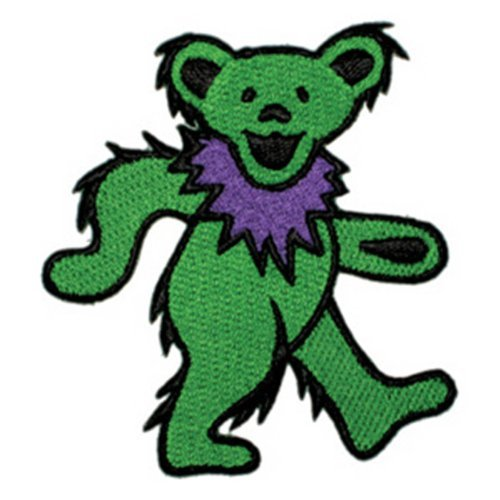 Application Dancing Bear Green Patch by Application