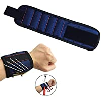 Rokoo Magnetische Armband Pocket Tool Gürteltasche Tasche Schrauben Halter für Werkstatt Schreiner preisvergleich bei billige-tabletten.eu