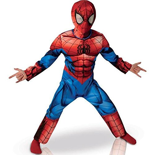 Ultimate Spider-Man Deluxe Kostüm für Kinder - Neues (Kinder Kostüme Neue)