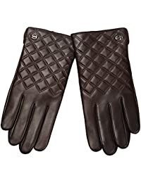 Elma Men's Touch Screen Nappa Leather Winter Gloves Iphone Ipad Smart Phone