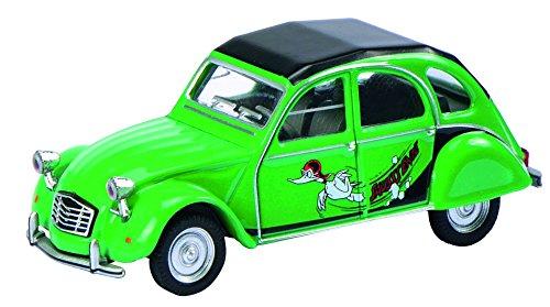 Preisvergleich Produktbild Schuco 452012200 - Citroen 2CV Sause Ente Maßstab 1:64, grün