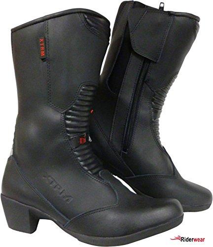 *Motorradstiefel XTRM 102 Damen Stiefel Roller Stiefel Tourenstiefel mit Absatz 39*