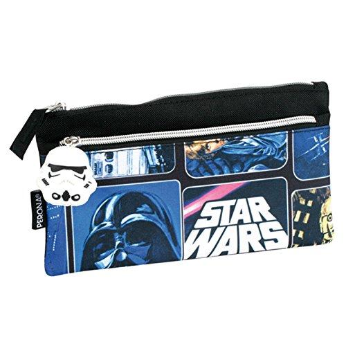 Star Wars - trousse à 2 fermetures-éclair, 22cm