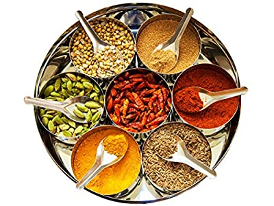 Curry Spice Kit - 10 Authentic Spices Refill + A FREE Packet of Fenugreek Seeds by Jalpur