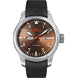 Fortis B-42 Aeromaster Dawn 655.10.18.K Automatic Mens Watch Excellent readability