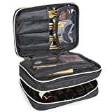 Lifewit Neceser Maquillaje 2 Pisos Bolso para Mujer Profesional...