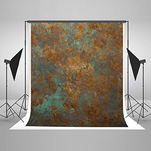 KateHome PHOTOSTUDIOS 2x3m Abstrakt Hintergrund Microfiber Alte Rostige Foto Hintergrund Fotografie Hintergrund Textur Portrait Hintergrund für Fotostudio (Elektronik Alte Recyceln Sie)