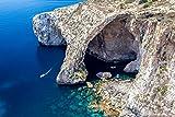 Felsen Meer Klippe Griechenland XXL Wandbild Kunstdruck