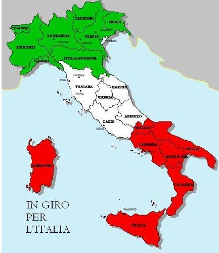 Italian Easy Reader: In giro per l'Italia