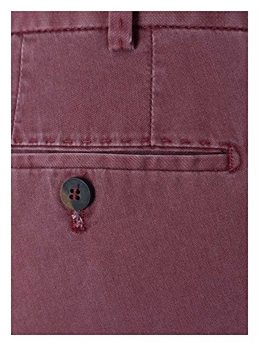 Hiltl Messieurs Pantalon Chino Coupe moderne Myrtille