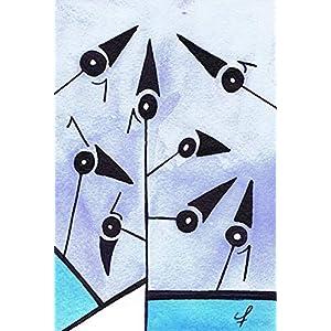 Olivier Cornil – Circulation difficile – Tuschezeichnung – 10 x 15 cm
