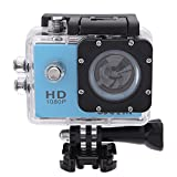 SJCAM Multi-function SJ4000 HD 1080P Waterproof Digital Video Recorder DVR Camcorder, 12 Mega pixel, 170° HD wide-angle, Multi Colors, with Waterproof Case Multiple Mounts (Blue)