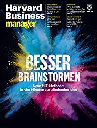 Harvard Business Manager 8/2018: Besser Brainstormen