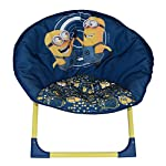 Fun House 712877 Despicable Me and the Minions Childrens Folding Moon Chair 54 x 45 x 47 cm