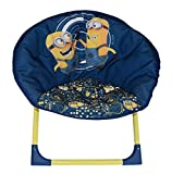 Unbekannt Fun House 712877die Minions Sitz Mond faltbar für Kinder Polyester/Polyethylen/Stahl 54x 45x 47cm