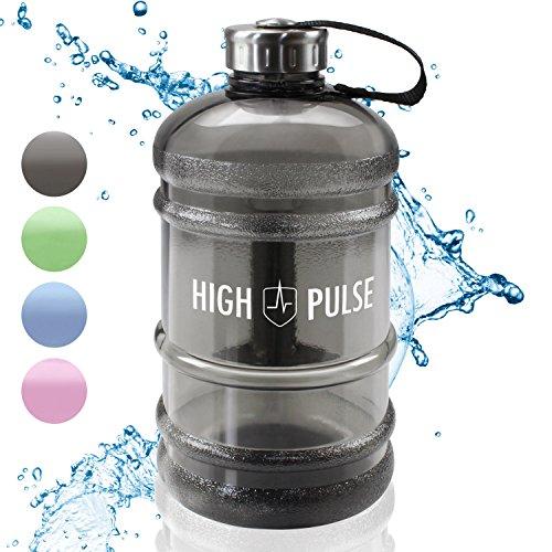 High Pulse Borraccia /2.2 L - La pratica borraccia d'acqua - Ideale per Fitness e Workout