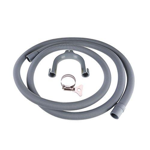 Masterpart 2,5m Universal Waschmaschine Abflussschlauch Verlängerungsrohr-18mm/22mm -