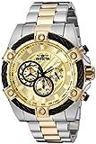 Invicta 25518 - Reloj de Pulsera Hombre, Acero Inoxidable, Color Bicolor