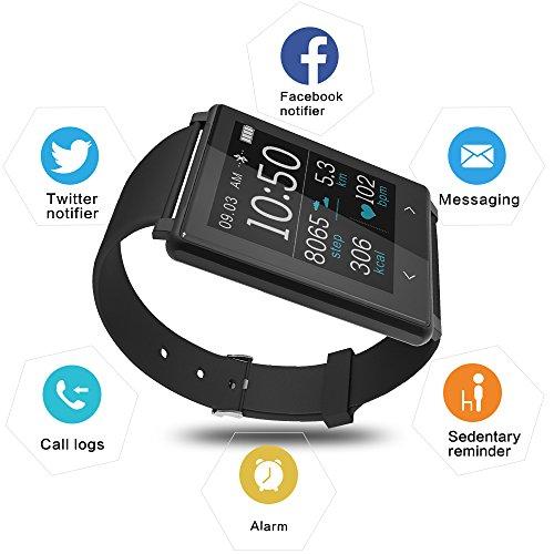YUNTAB-Fitness-Braccialetto-Z8-monitor-della-frequenza-cardiaca-Sportiva-Smart-Bracelet-Braccialetto-fitness-fitness-tracker-smart-bracelet-smartwatch-con-touchscreen-Oled-e-Bluetooth-40-per-Android-e