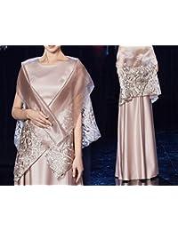 HDJJKSH Vestito da sera da donna lungo paragrafo dignitoso atmosfera  matrimonio madre banchetto elegante abito nobile 00ecf0dc077