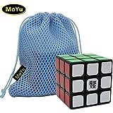 MoYu Weilong V2 Enhanced version 3x3x3 Speed Puzzle Magic Cube Black With a MoYu Cube Bag MOYU weilong V2 version mejorada velocidad de 3x3x3 Puzzle Magic Cube negro con un cubo de MOYU Bolsa