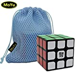 MoYu WEILONG V2 3x3 3 Layers Magic Cube Speed Puzzle Cube Black + One MoYu Cube Bag moyu cube magique weilong v2 3x3 3 couches moyu puzzle cube noir + une vitesse cube sac