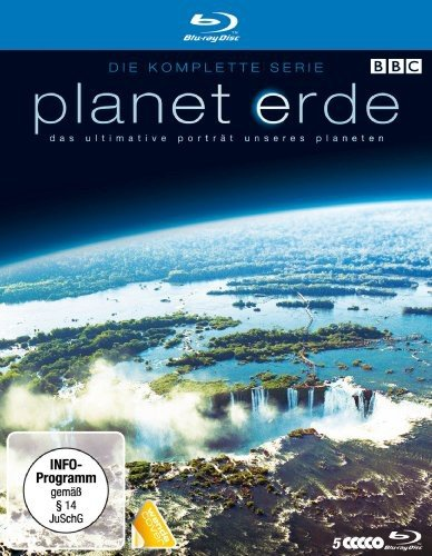 Planet Erde - Die komplette Serie (5 Discs, Softbox) [Blu-ray] - Partnerlink