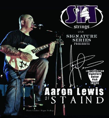 SIT Aaron Lewis Signature - Set di corde per chitarra, da .013 a .056