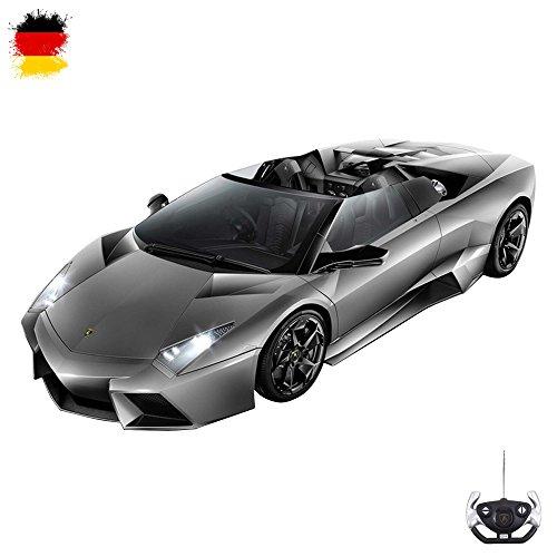 Lamborghini Reventon Roadster- original RC ferngesteuertes Modellauto im Modell-Maßstab 1:14 inkl. Fernsteuerung