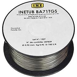 Proweltek Bobine de fil fourré sans gaz/soudage MIG-MAG Ø:0,9 mm-900 g
