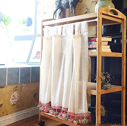 TINE HOME CURTAINS Cortina Romana Tulle Beige Gauze