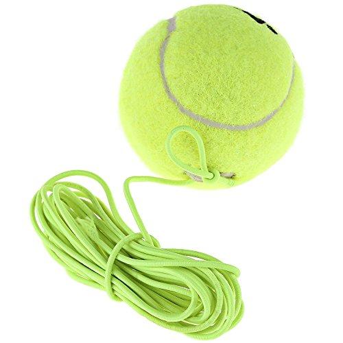 HSS-Tennis-Trainer, Ausfallsicherheit, Tennisball, aus Gummi und Wolle, mit elastischem Seil, Ersatzseil -
