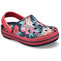 Crocs Crocband Flower Print Clog K, Unisex Kids