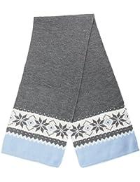 Floso - Écharpe tricotée à motif flocons de neige - Femme